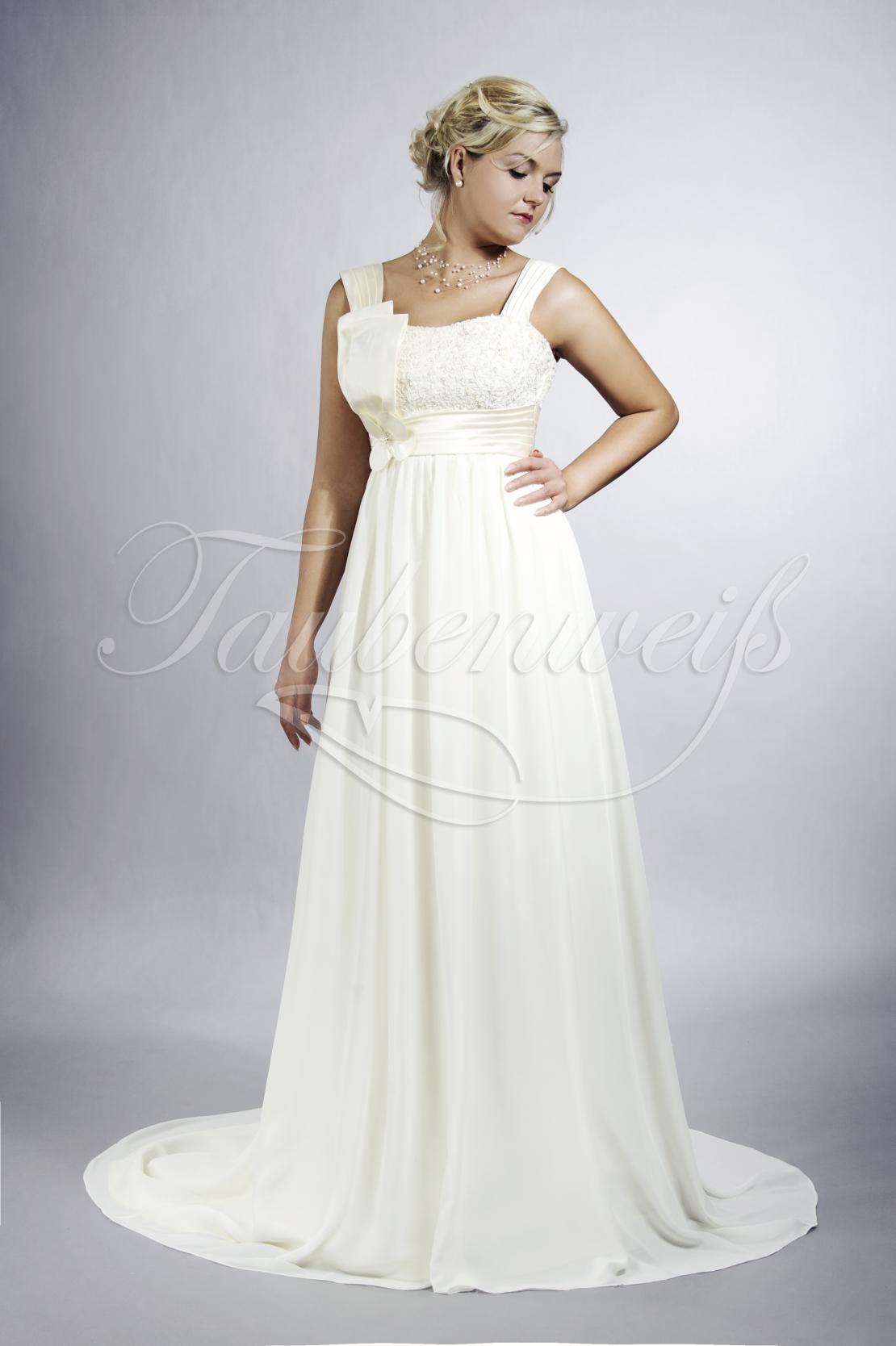 Brautkleid TW13B im Empire-Stil für Schwangerschaft